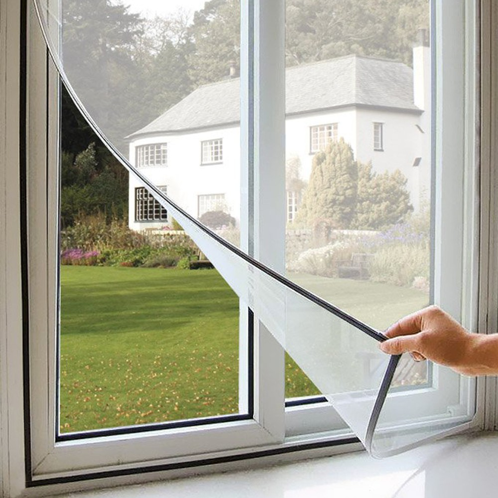 INSECT SCREEN TEARING WITH ADHESIVE FOR WINDOWS AGAINST INSE