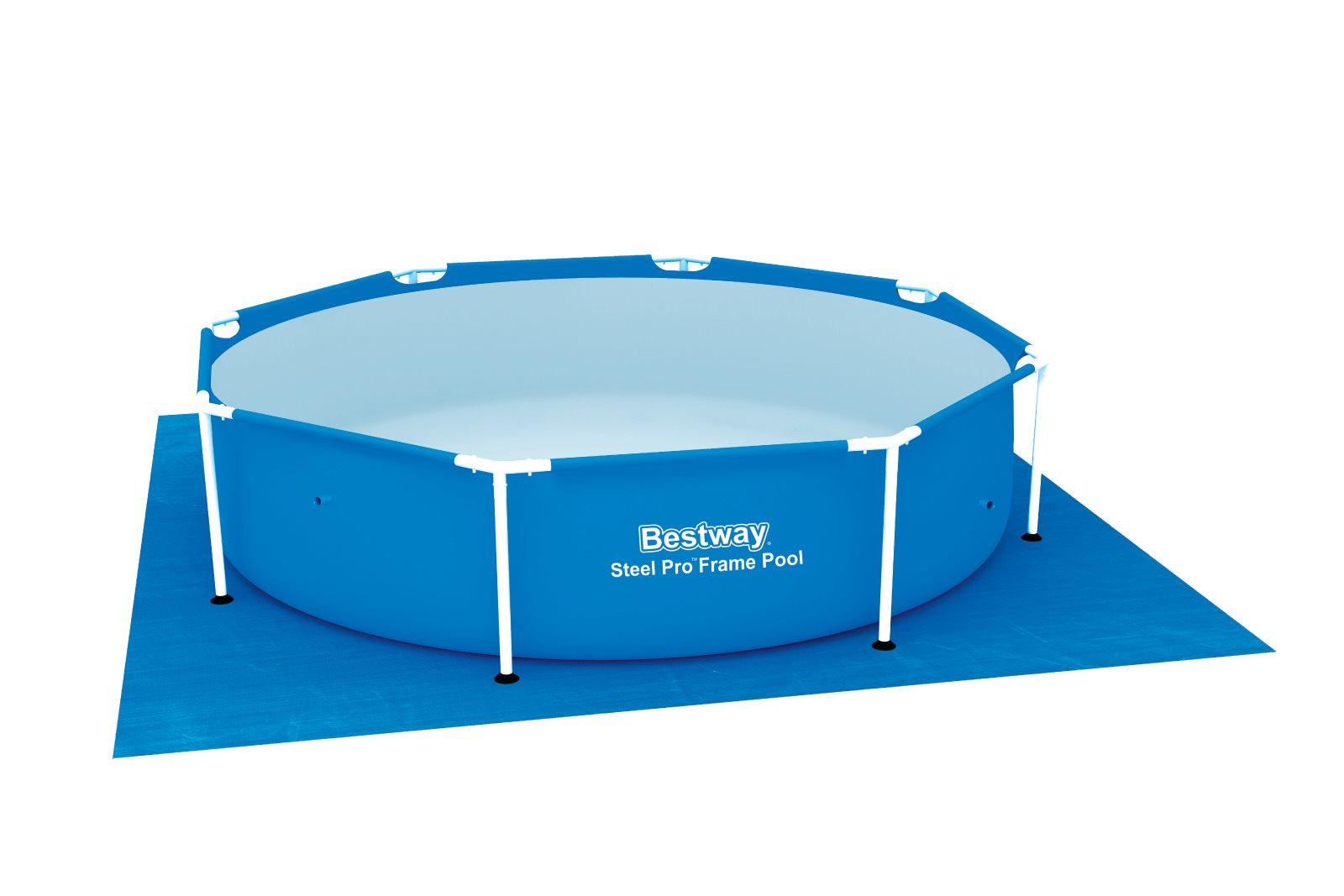 Bestway 58002 tappeto sottofondo quadrato per piscina cm - Tappeto sottopiscina ...