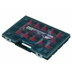 CASSETTA PORTAMINUTERIE IN PLASTICA mm.290x195x35