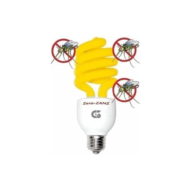 Lampadina antizanzara g3 ferrari 26w e27 risparmio energia for Lampada antizanzare