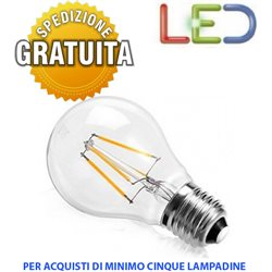 BULB LED FILAMENT BALL bulbs E27 6W 2700K