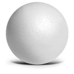 BALL BALL OF POLYSTYRENE, CM. 8-10-12-14-16-20 CHRISTMAS PACKAGE