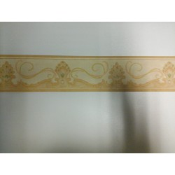 The EDGE of the GREEK WALLPAPER H. 9 Cm X 10 M the FRAME 1 PIECE