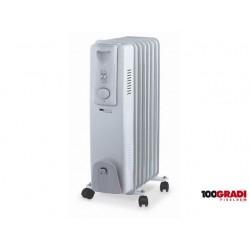 RADIATORE AD OLIO 9 ELEMENTI 2000 W termostato regolabile Cm 49x26x61h