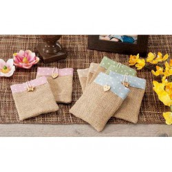 BAG JUTE, CM.10X15 GREAT AS A WEDDING FAVOR PLACEHOLDER