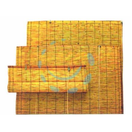 ARELLE IN BAMBU' CON TIRO IN TERMORETRAIBILE cm.150x300h.
