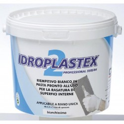 PLASTER IN PASTE READY-TO-USE FILLER WHITE KG.20 FOR SMOOTHING THE INTERIOR