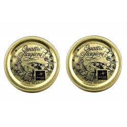 CAPS CAPSULE BORMIOLI 70 mm 100 PIECES PER JAR-GLASS PRESERVES the ORIGINAL