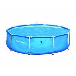 """TELO TERMICO DI COPERTURA PER PISCINE TONDE """"STEEL FRAME"""" ø cm.290 per piscine ø cm.305 (art.58241)"""