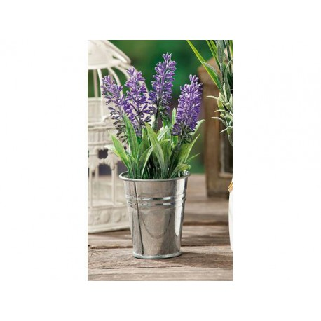 THE VASE WITH THE LAVENDER AND THE DM.6 CM HIGH 16 CM PLACEHOLDER WEDDING FAVOR 884007