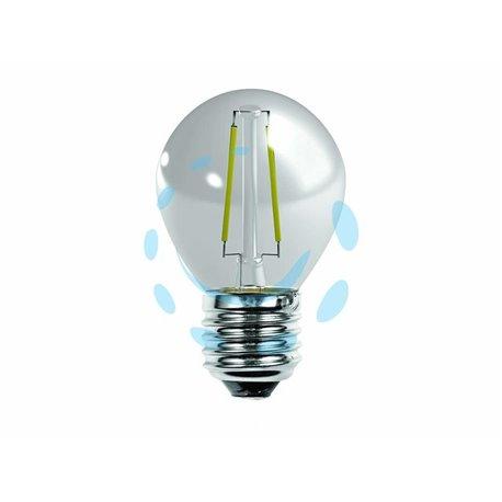 LAMPADA A FILAMENTO LED SFERA CHIARA 4w (40) E27 2700K 470 LUMEN 320°