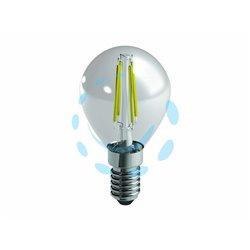 LAMPADA A FILAMENTO LED SFERA CHIARA 4w ( 40) E14 2700K 470 LUMEN 320°