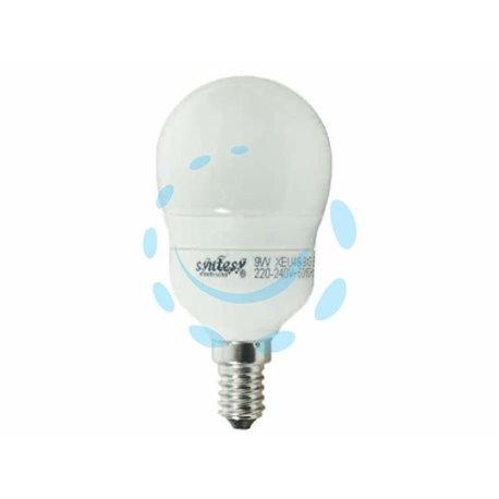 LAMPADA ELETTRONICA A SFERA OPALE E14 9w E14 2700K