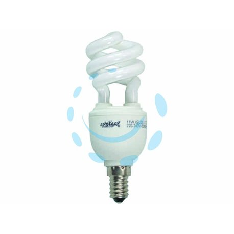 LAMPADA ELETTRONICA A SPIRALE E14 11w E14 6500K