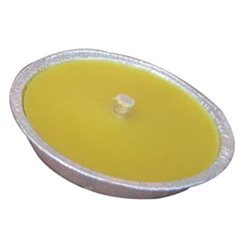 CITRONELLA CANDLE IN TIN-FOIL, DIAMETER 11 CM PIECES OF 18 REPELLENT