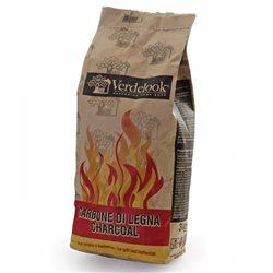 COAL CHARCOAL WOOD KG.3 FOR BBQ GRILL COALS