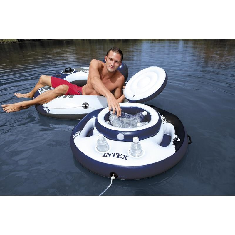 Minibar portabevande lattine galleggiante intex piscina for Intex piscine accessori
