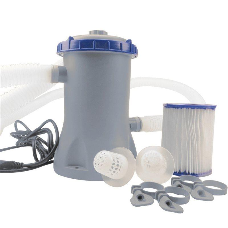 Pompa per piscina esterna bestway 2006 lt h filtro for Filtro piscina bestway