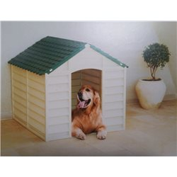KENNEL FOR DOG SIZE LARGE RESIN cm.86x84,5x82