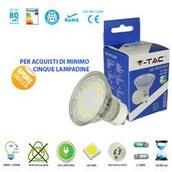 LAMPADINA LED V-Tac GU10 3W LAMPADA SPOT FARETTO VT-1859