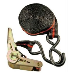 STRAP WITH TENSIONING RATCHET MT.3.5 WITH TWO HOOKS