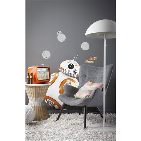 ADHESIVE DECOSTICKER ORIGINAL STAR WARS STAR WARS DROID BB8