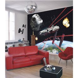 POSTER FOTOMURALE THE ORIGINAL STAR WARS WALLPAPER STAR WARS MILLENNIUM