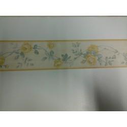 BORDO GRECA CARTA DA PARATI H. 10,75 Cm X 10 M GRECA CORNICE 1 PZ. ART. 5081