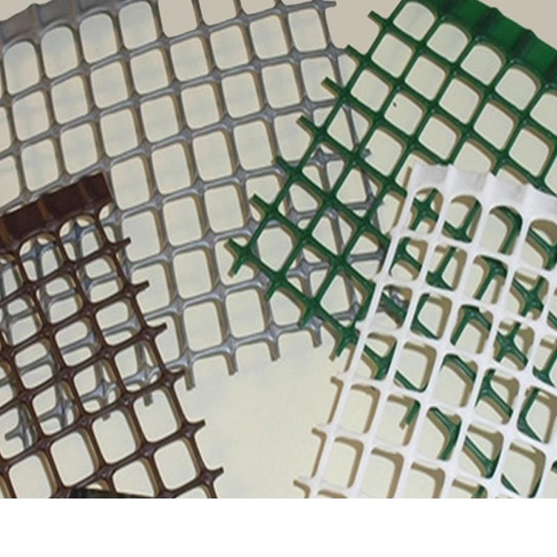 Rete plastica balcone 10x10 metro lineare grigia bianca for Rete ombreggiante grigia