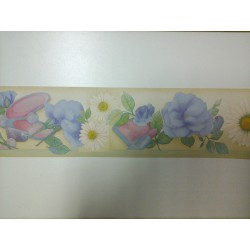 The EDGE of the GREEK WALLPAPER H. 13,5 Cm X 10 M GREEK FRAME 1 PCS