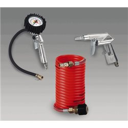 SET 3 ACCESSORI PER COMPRESSORE EINHELL