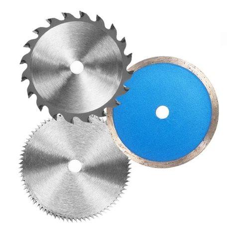 SET 6 DISCS FOR MINISEGA CIRCULAR EINHELL DIAMOND SAW BLADE, HSS AND HW
