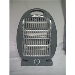 HEATER PORTABLE INFRARED QUARTZ 400/800W 2 RADIATING ELEMENTS
