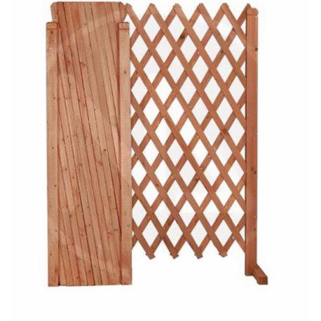 Traliccio estensibile in legno 1 pz chiudibile for Impregnante per legno esterno prezzi