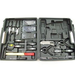 BRIEFCASE TOOL holder WITH No. 66 INCLUDED ACCESSORIES