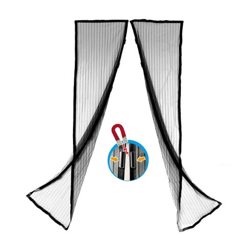 Zanzariera tenda magnetica con calamita 100 x 200 cm per porta balcone di casa ebay - Zanzariera magnetica finestra ...