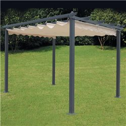 TOP COVER REPLACEMENT FOR PERGOLA MT.3X3 WATERPROOF 91985