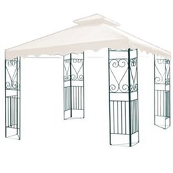 TOP COVER REPLACEMENT FOR GAZEBO MT.3X3 WHITE WITH AIRVENT 10263