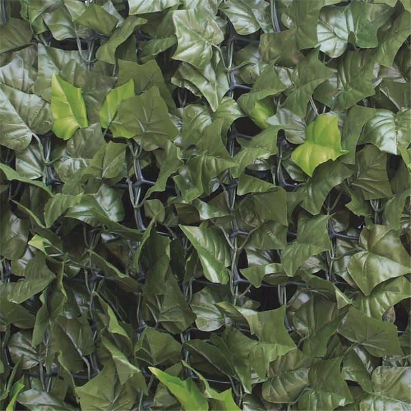Siepe sintetica finta lauro edera mt 3x1h artificiale for Siepe artificiale bricoman