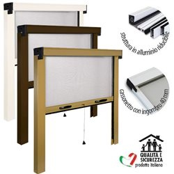 ROLLER INSECT SCREEN MADE IN ITALY REDUCED THE WINDOW AND DOOR KIT, MOSQUITO NETS