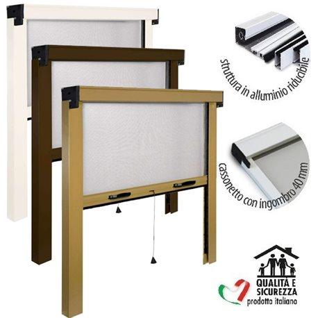 Zanzariera a rullo made in italy riducibile finestra e for Prebonsai vendita on line