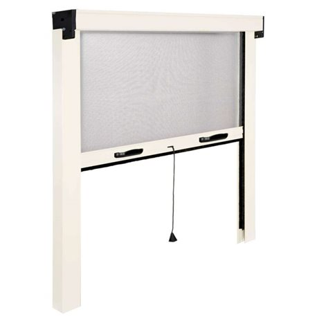 ROLLER INSECT SCREEN IN WHITE MADE IN ITALY REDUCED THE WINDOW AND DOOR KIT, MOSQUITO NETS