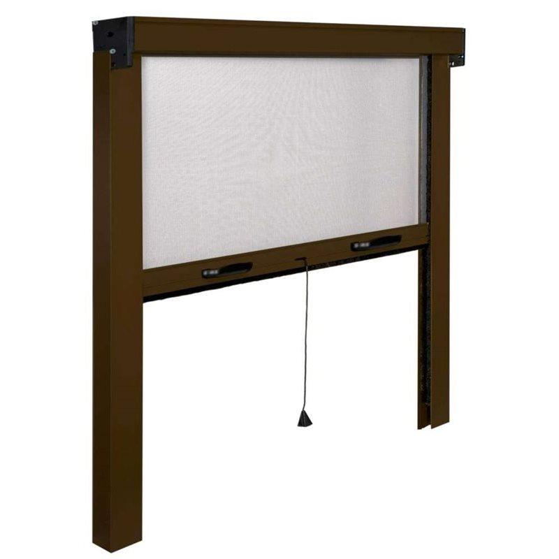 Zanzariera a rullo made in italy riducibile finestra e - Zanzariera finestra fai da te ...
