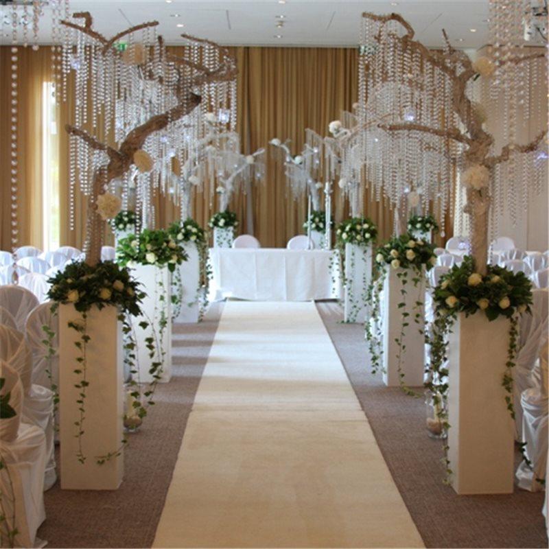RUNNER GUIDE WHITE CARPET CHRISTMAS WEDDING CEREMONY