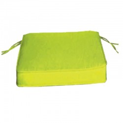 CUSHIONS SEAT OUTDOOR GARDEN 6 PCS. APPLE GREEN