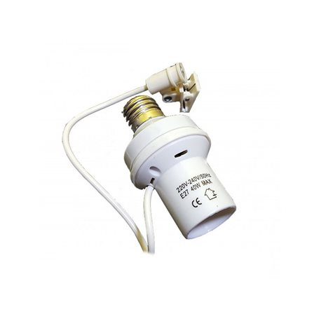 Lamp HOLDER WITH AUTOMATIC light SENSOR SWIVEL-E27