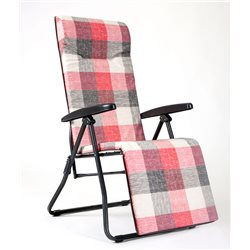 RELAXATION ARMCHAIR RECLINER 5-position SUPERIMBOTTITURA 6cm. MADE IN ITALY