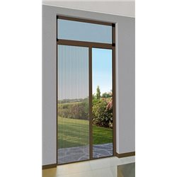 MOSQUITO NET SIDE-SCROLLING IN KIT, FRENCH DOORS, PLEATED