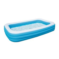 "BESTWAY 54009 - SWIMMING POOL INFLATABLE RECTANGULAR ""FAMILY"" CM.305X183X56H"