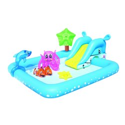 "BESTWAY 53052 - PADDLING POOL, RECTANGULAR ""FANTASTIC AQUARIUM"""